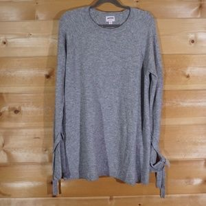 NWT Isabel Maternity Gray Pullover Sweater XXL